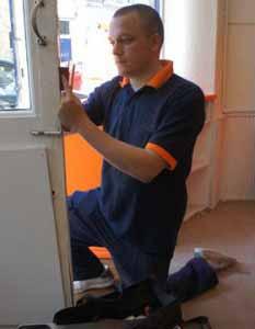 Michel, serrurier Neuilly Sur Seine, sur un chantier